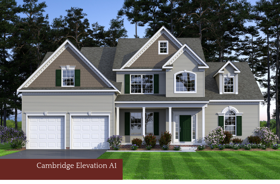 Single Family for Sale at Hunter Springs-The Cambridge 2847 Deer Creek Court Indian Head, Maryland 20640 United States