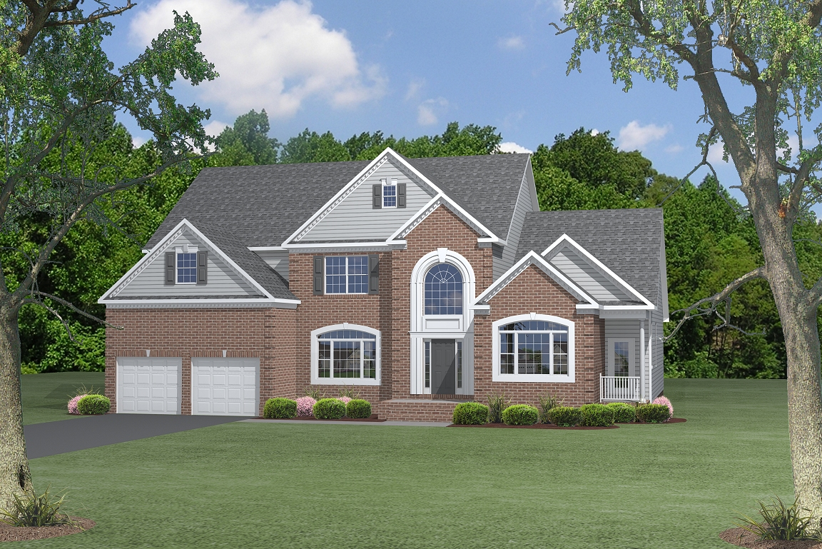 Single Family for Sale at Coachman's Path-The Somerset 4483 Coachman's Path Court Waldorf, Maryland 20601 United States