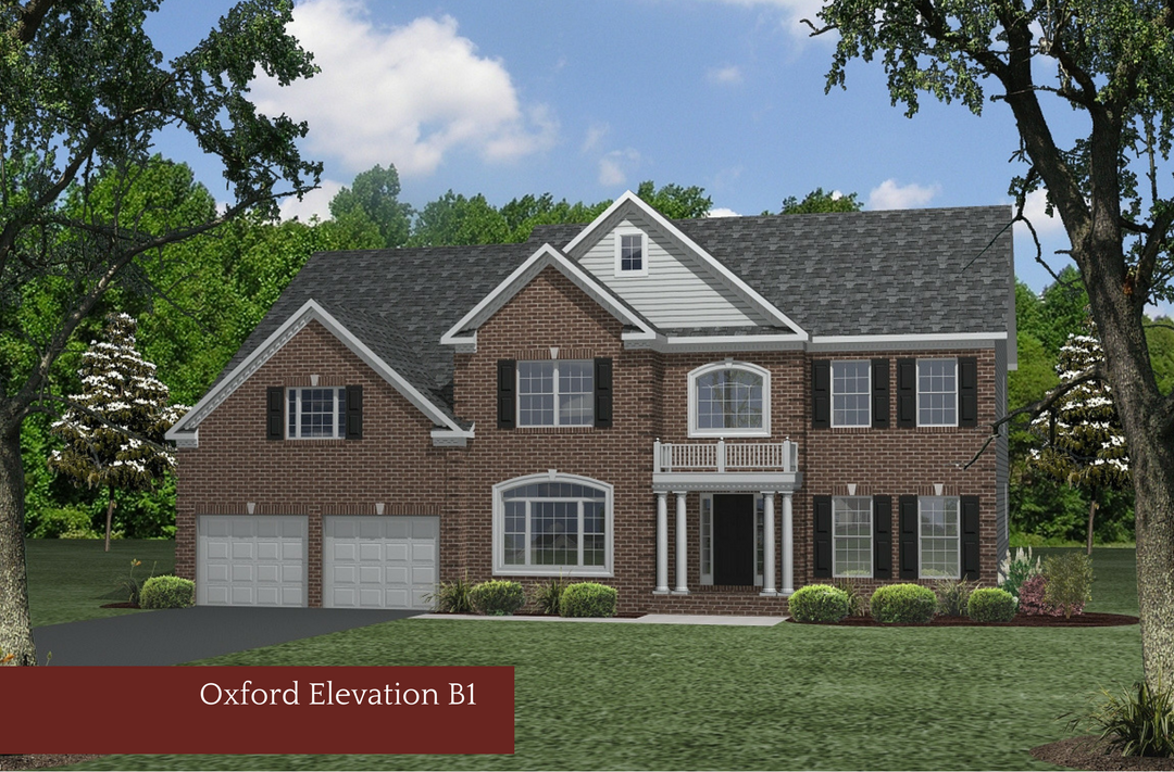 Single Family for Sale at Twin Ponds (Calvert)-The Oxford Barberry Lane Huntingtown, Maryland 20639 United States