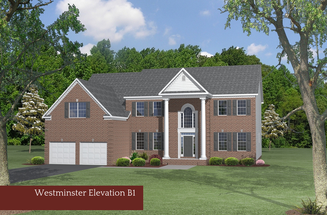 Single Family for Sale at Eagle Ridge-The Westminster 100 Fish Hawk Court Waldorf, Maryland 20601 United States