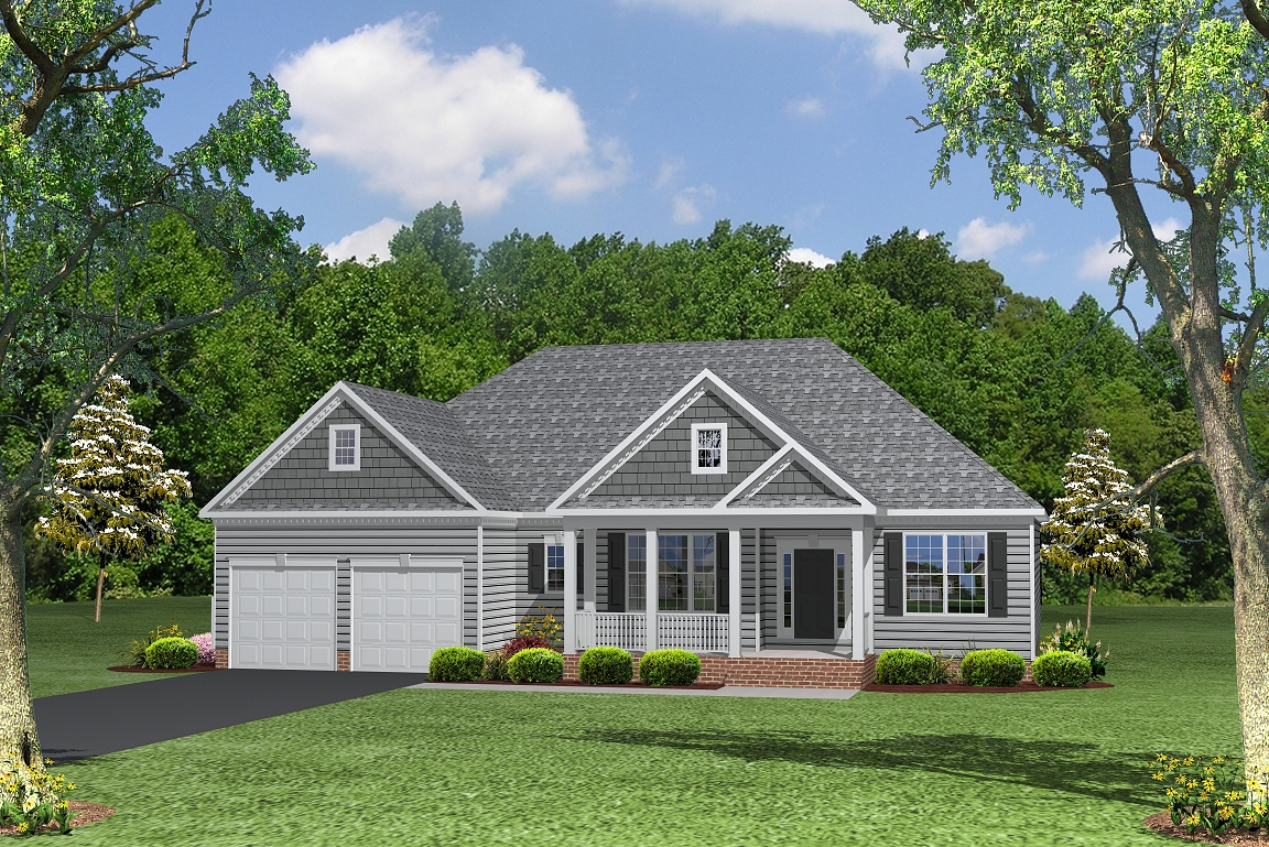Single Family for Sale at Fischer's Grant-The Ashland Calvert Run Court La Plata, Maryland 20646 United States