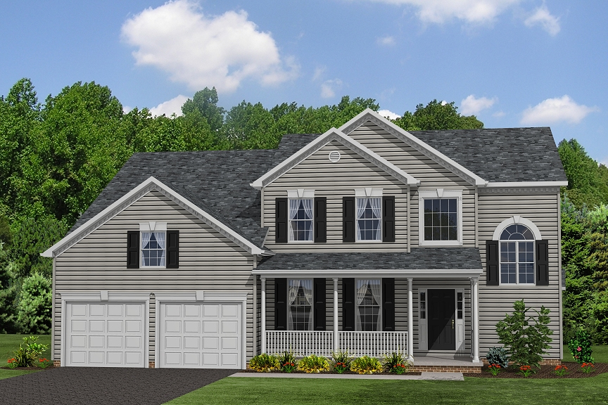 Single Family for Sale at Turtle Creek-The Annapolis 14645 Gallant Lane Waldorf, Maryland 20601 United States