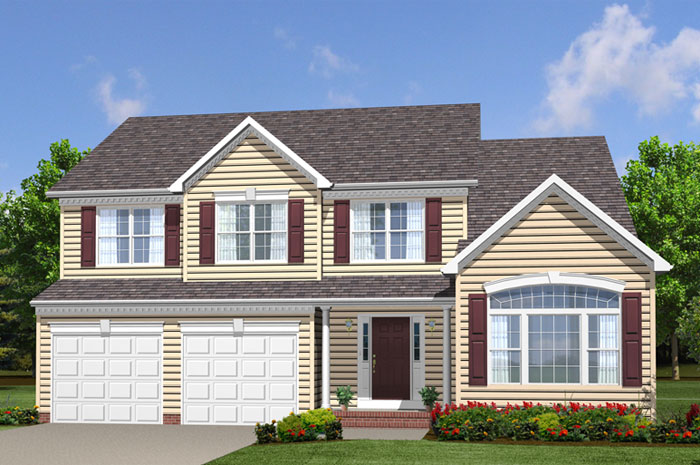 Single Family for Sale at Buck's Run-The Ashford 6885 Crockett Court Hughesville, Maryland 20637 United States