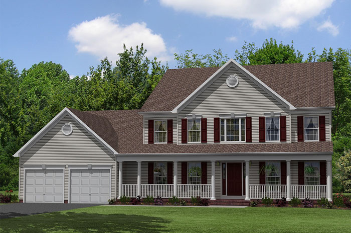Single Family for Sale at Coachman's Path-The Chesapeake 4483 Coachman's Path Court Waldorf, Maryland 20601 United States