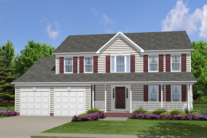 Single Family for Sale at Simmons Ridge-The Compton 100 Simmons Ridge Rd Prince Frederick, Maryland 20678 United States