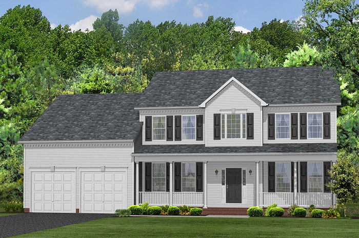 Single Family for Sale at Buck's Run-The Frederick 6885 Crockett Court Hughesville, Maryland 20637 United States