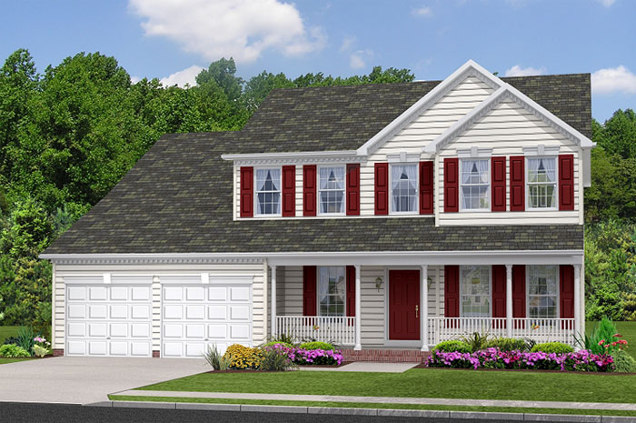 Single Family for Sale at Simmons Ridge-The Newport 100 Simmons Ridge Rd Prince Frederick, Maryland 20678 United States
