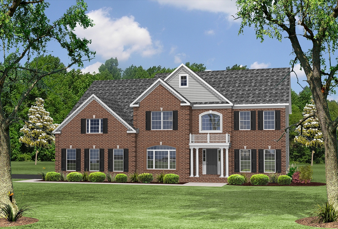 Single Family for Sale at The Lakes At Twin Shields-The Oxford 2310 Golf Club Drive Dunkirk, Maryland 20754 United States