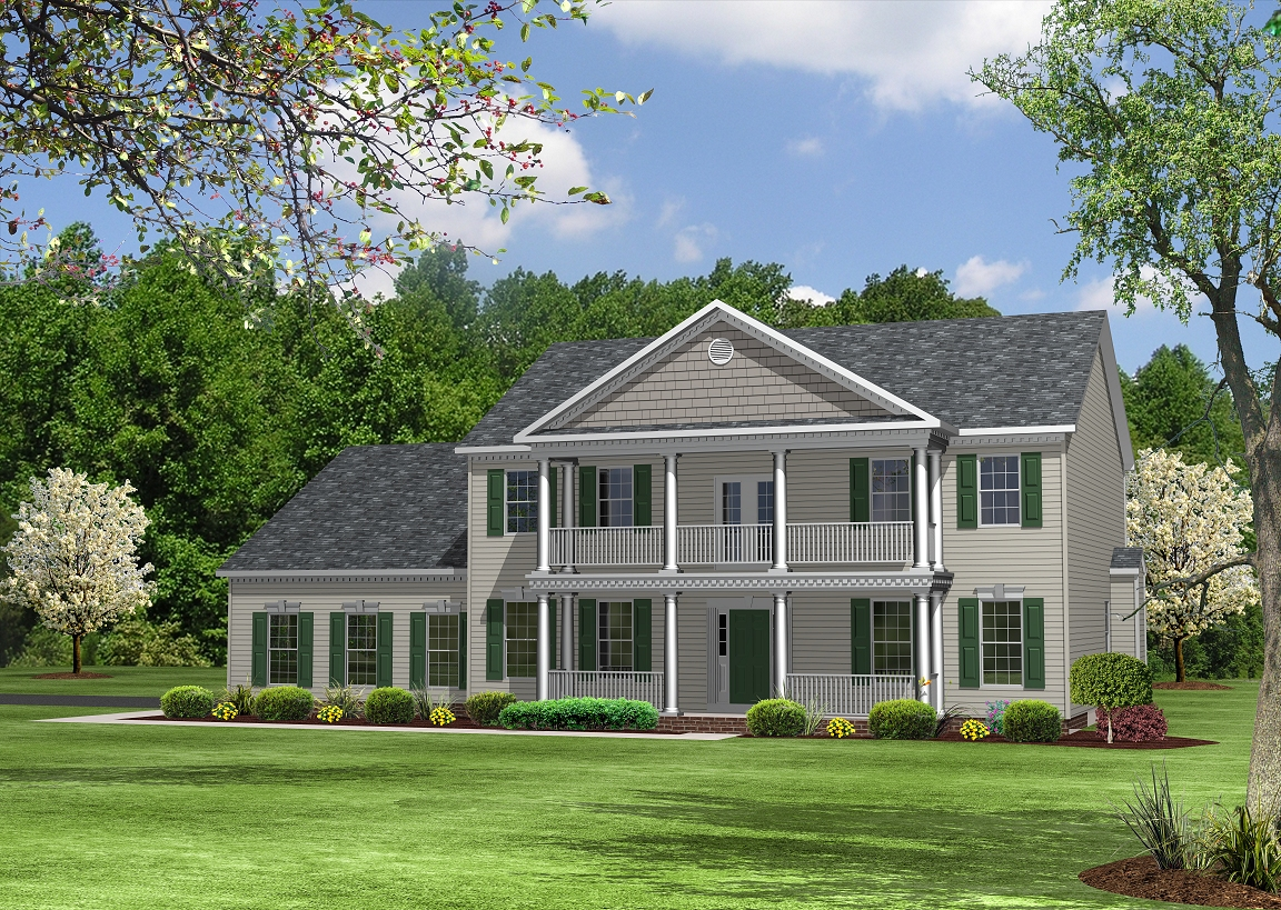 Single Family for Sale at The Lakes At Twin Shields-The Pendleton 2310 Golf Club Drive Dunkirk, Maryland 20754 United States