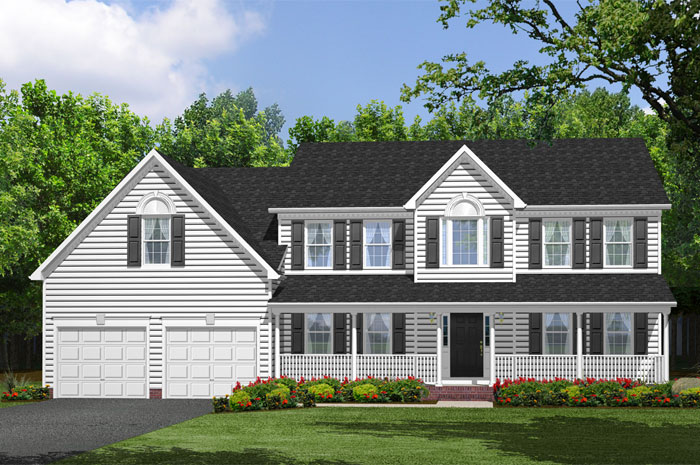 Single Family for Sale at Coachman's Path-The Willow 4483 Coachman's Path Court Waldorf, Maryland 20601 United States