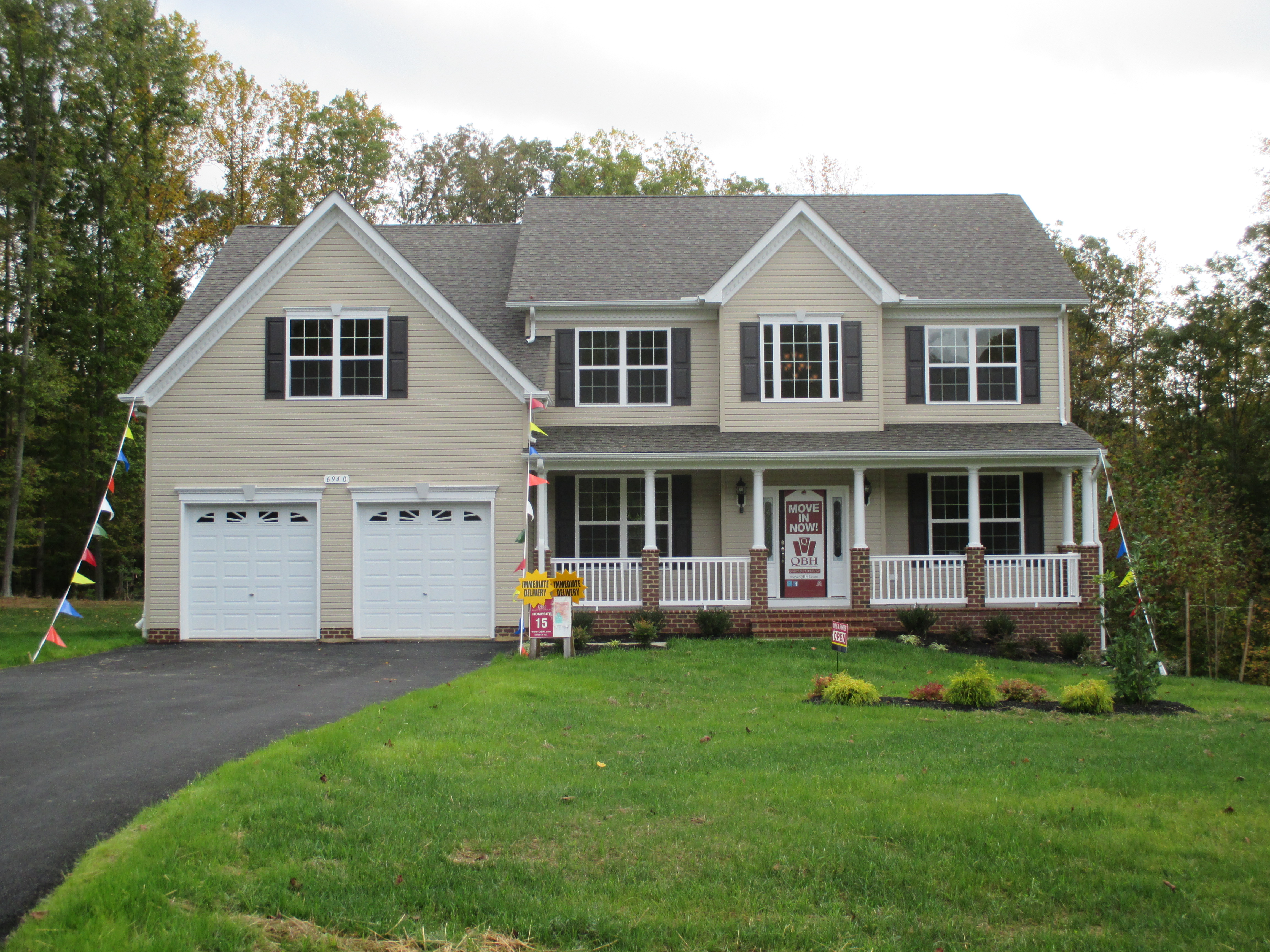 Quality built homes southern maryland new homes now selling for Home builders in southern maryland