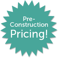 burst pre-construction pricing